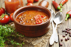Soup with red bean Royalty Free Stock Photos