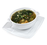 Soup from seafood Royalty Free Stock Photography