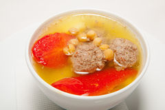 Soup, tasty food, appetite Stock Image