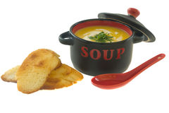 Soup time Royalty Free Stock Photo