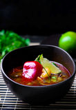 Soup Tom yam kung . Royalty Free Stock Images