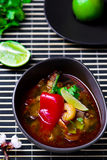 Soup Tom yam kung . Royalty Free Stock Photo