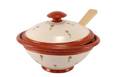 Soup-tureen Royalty Free Stock Photo