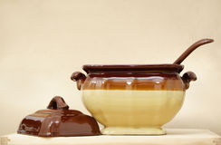 Soup tureen Royalty Free Stock Photos