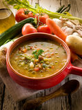 Soup vegetable Stock Image