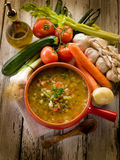 Soup vegetable Stock Photos