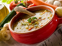 Soup vegetable Royalty Free Stock Image