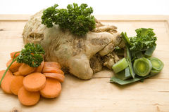 Soup vegetables Stock Images