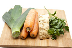 Soup vegetables freshly Royalty Free Stock Photo