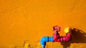 Soupape colorée photos libres de droits
