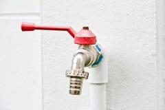 Soupape d'approvisionnement en eau. Image stock