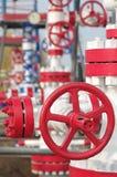 Soupape de commande de gaz Photos libres de droits