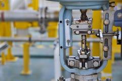 Soupape de commande, indicateur de la position de moniteur ou du statut de fonction de valve, valve de contrôle de la pression ou Image stock