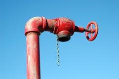 Soupape de l'eau Photo libre de droits