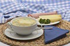 Soupe à asperge Photo libre de droits