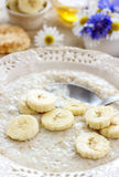 Soupe à banane Photo stock