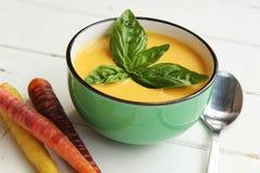 Soupe à carotte Images libres de droits