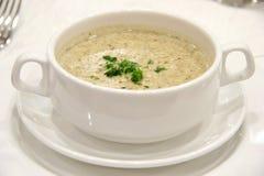 Soupe à champignons Photo stock