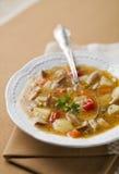 Soupe à champignons Photos stock
