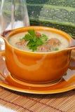 Soupe à courgette Images libres de droits
