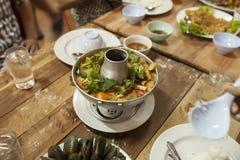 Soupe à crevette Photo stock