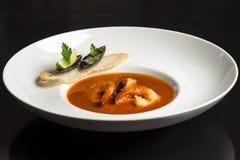 Soupe à crevette Image stock