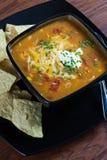 Soupe à enchilada de poulet Image libre de droits
