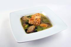 Soupe à fruits de mer Photos libres de droits