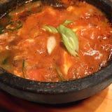 Soupe à Kimchi Image libre de droits