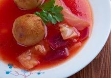Soupe à Kubbeh Photographie stock libre de droits