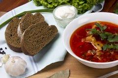 Soupe à la betterave, borscht image stock