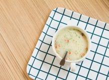 Soupe à lard Photographie stock