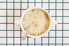 Soupe à lard Image libre de droits