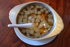Soupe à melon d'hiver photographie stock
