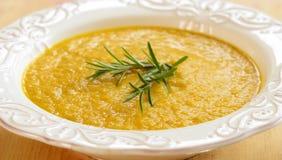 Soupe à patate douce Photo libre de droits