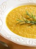 Soupe à patate douce Photographie stock libre de droits