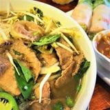 Soupe à Pho BO de Vietnamien photo stock