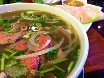 Soupe à Pho BO de Vietnamien photographie stock libre de droits