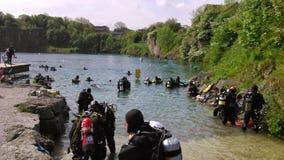 Soupe à plongeur Image libre de droits