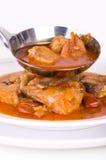 Soupe à poissons. Image libre de droits
