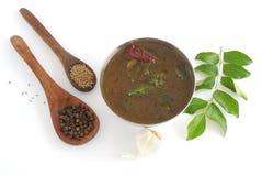 Soupe à poivre Images stock
