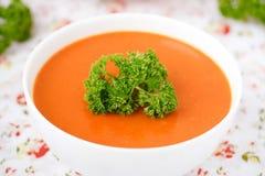 Soupe à potiron. Images libres de droits