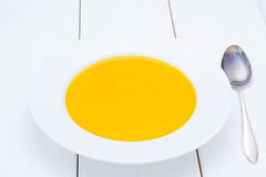 Soupe à potiron du Hokkaido Images stock
