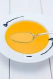 Soupe à potiron du Hokkaido Photo stock