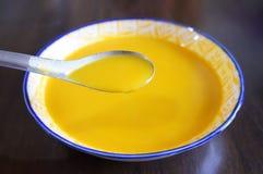 Soupe à potiron images stock