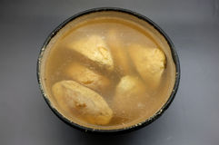 Soupe à tofu photo stock
