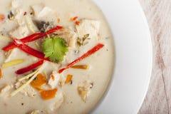 Soupe à Tom Kha Gai Photos libres de droits