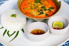 Soupe à Tom Yum d'Asiatique photo stock