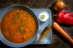 Soupe à vache Photo stock