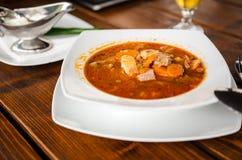 Soupe à veau Image stock
